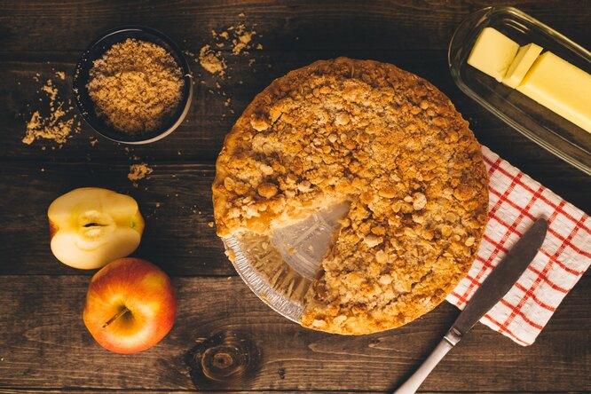 Яблочные пироги: виды ипольза дляздоровья