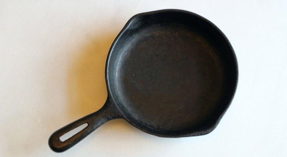 Как вернуть кжизни старую чугунную сковороду
