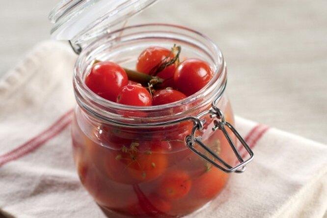 Маринованные помидорки-черри
