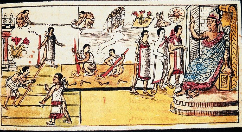 За что уацтеков роженице воздавались боевые почести, ипочему гречанки завидовали египтянкам