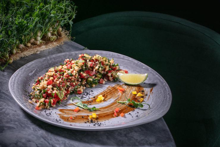 Рецепт салата сбулгуром