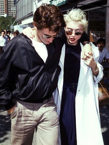 Мадонна и Шон Пен