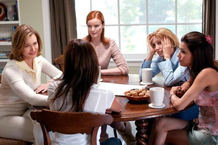 Интересные факты обОтчаянных домохозяйках