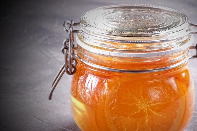 Апельсиновый дольки для приготовления цукатов