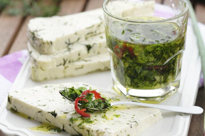 Сыр с ароматным маслом