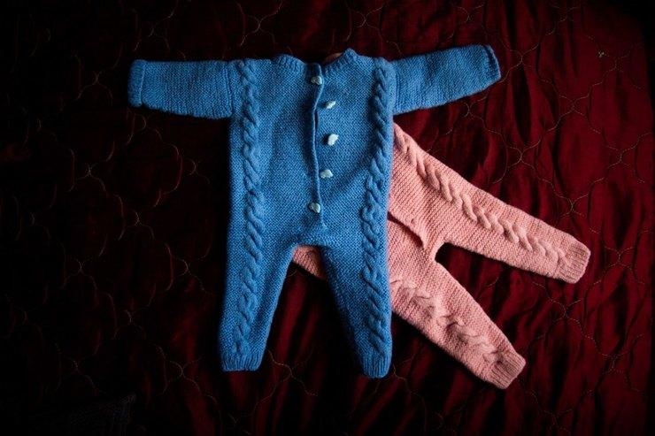 Ирина вяжет одежду ипледы длявсей семьи Фото: Кристина Сырчикова дляТД