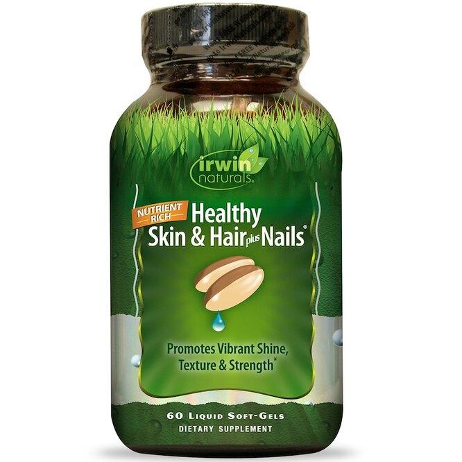 Гелевые капсулы для кожи и волос и ногтей, Irwin Naturals, 1176 руб