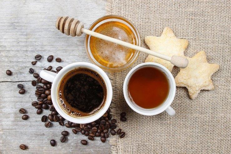 Кофе ичерный чай