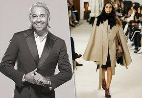 С чем носить ультрамодное пальто-кейп?
