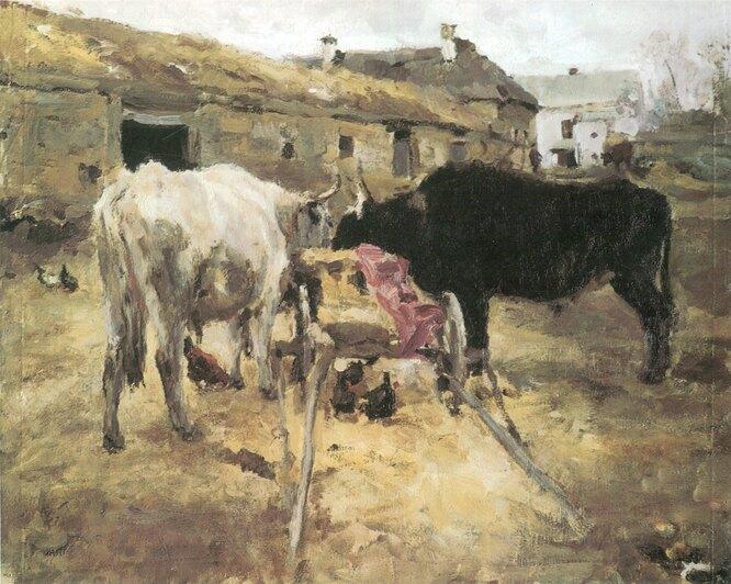 Волы. 1985