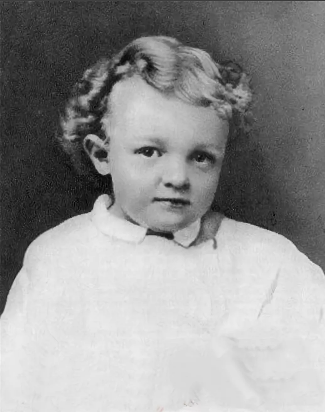 Владимир Ульянов в детстве