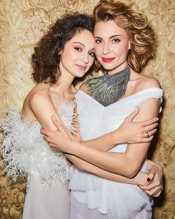 Любовь Толкалина иМария Кончаловская фото