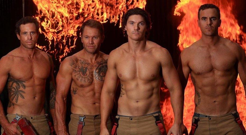 Австралийские пожарные снялись длянового календаря на2020 год