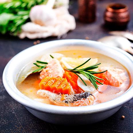 Рецепт супа из семги