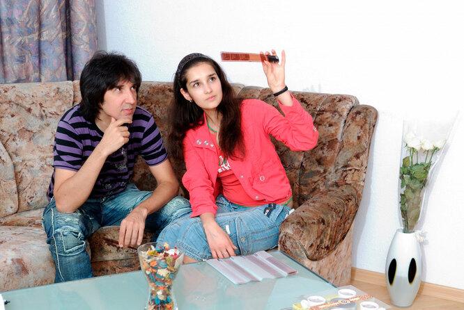 Кай Метов с дочерью Кристиной