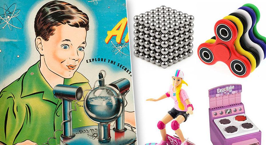 Магнитный куб, дартс испинер:  хит-парад самых опасных детских игрушек
