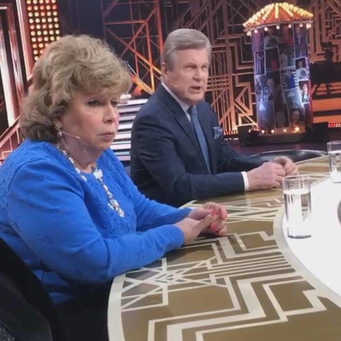Лариса Рубальская иЛев Лещенко назаписи передачи Андрея Малахова