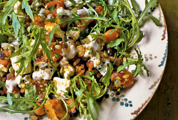 Рецепт салата с семенами чиа и овощами