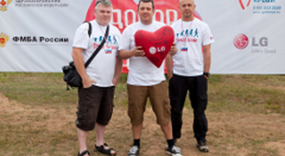 Дни донора наВсероссийском образовательном форуме  «Селигер-2012»