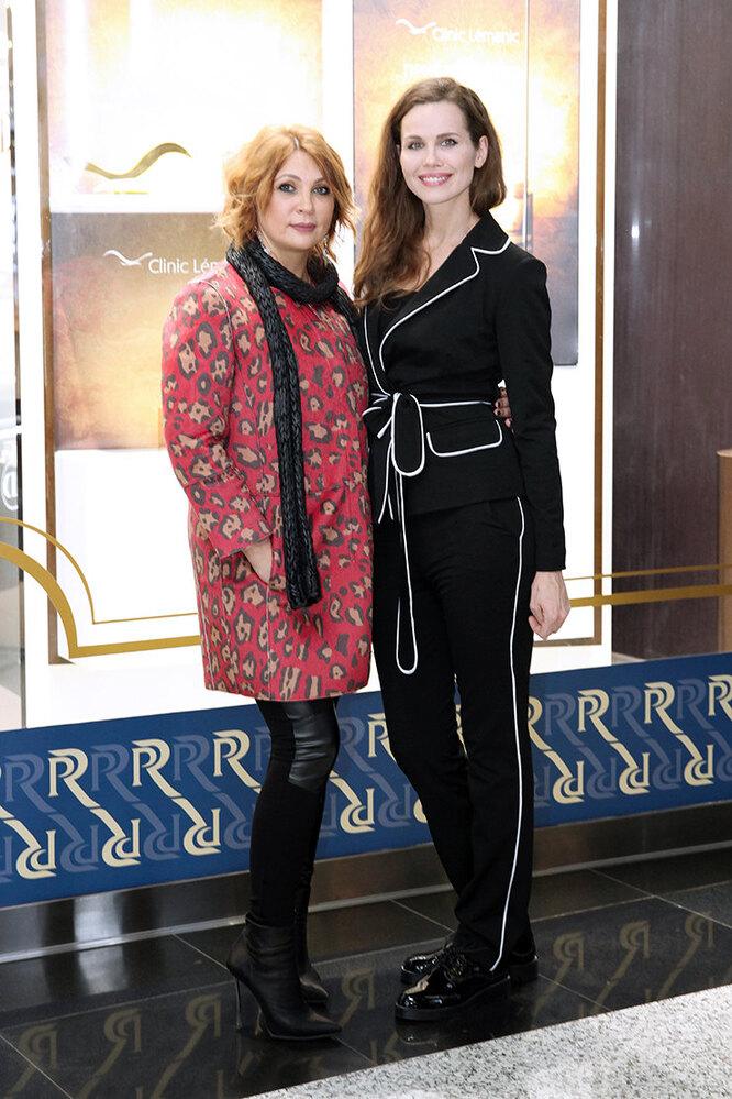 Светлана Назаренко и Наталья Лесниковская