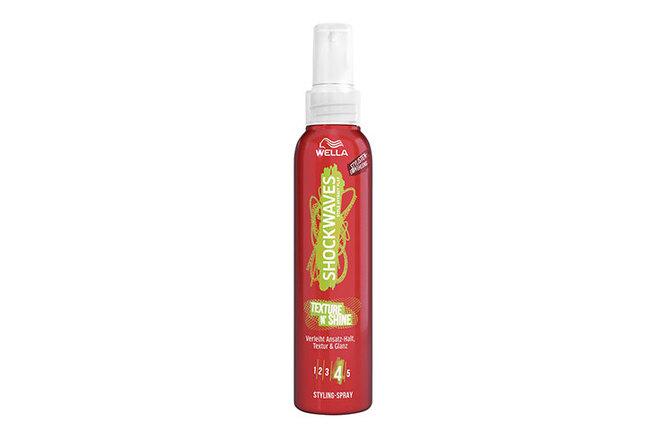 Гель-спрей для волос Shockwaves Texture N'Shine, Wella