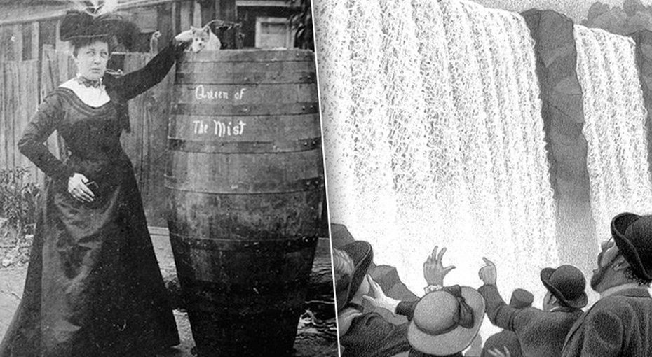 Бросится сНиагарского водопада вбочке ивыжить. История школьной учительницы