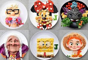 Австралийка готовит сыну блюда в виде мультяшных персонажей. Хотите так же?