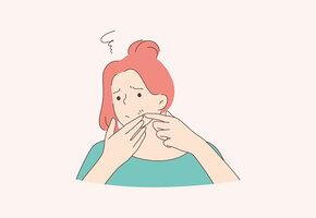Не к косметологу, а к психиатру: как определить психическое заболевание по акне?