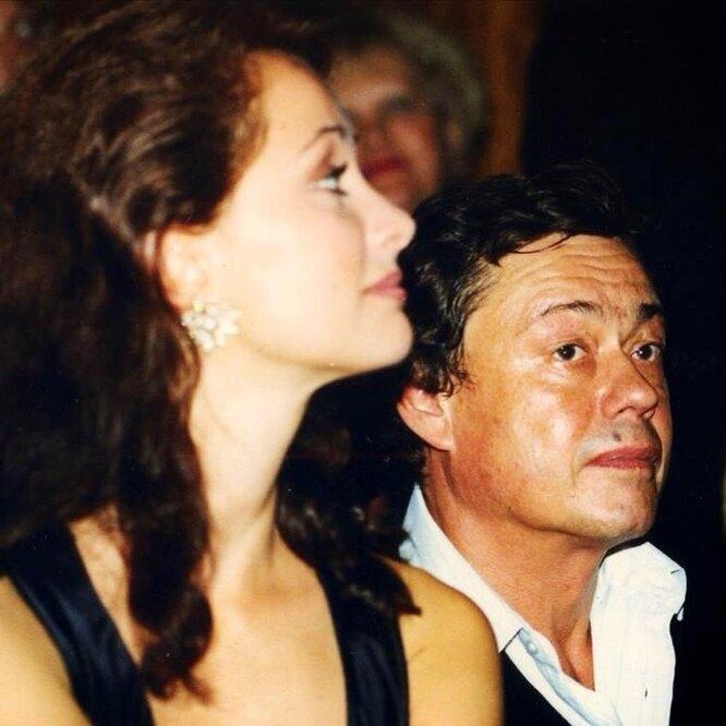Ольга Кабо и Николай Караченцов