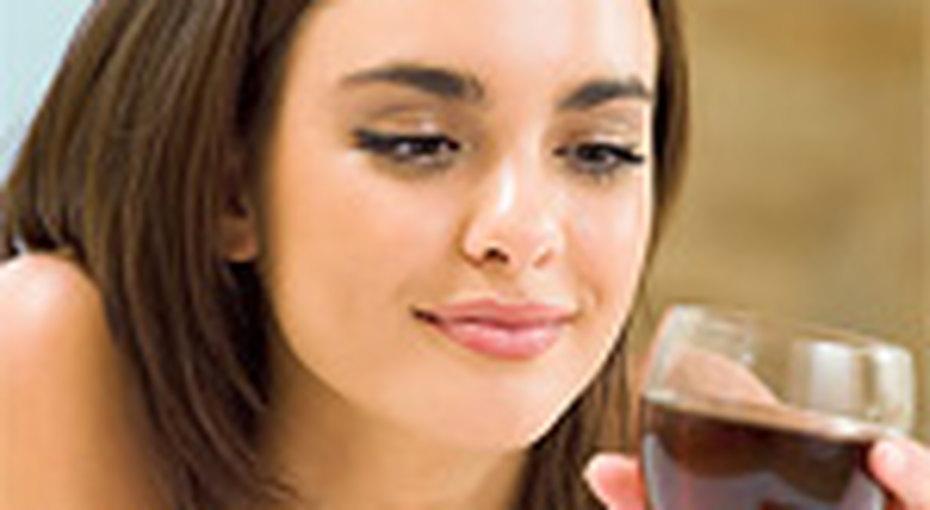Вино помогает худеть