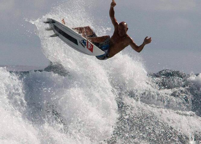 Серфинг на Таити 3D