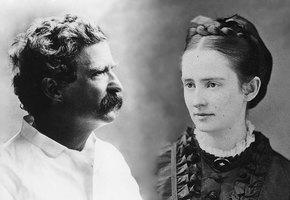 Марк Твен и Оливия Лэнгдон. Барышня и хулиган