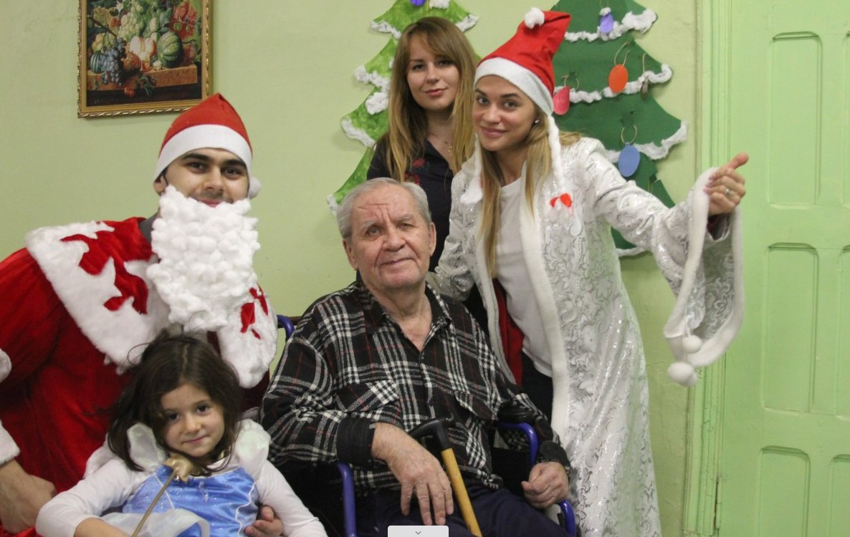 Новый год вдоме престарелых вСмоленской области