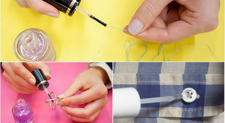 На что способен бесцветный лак дляногтей? 10 секретов окоторых вы незнали