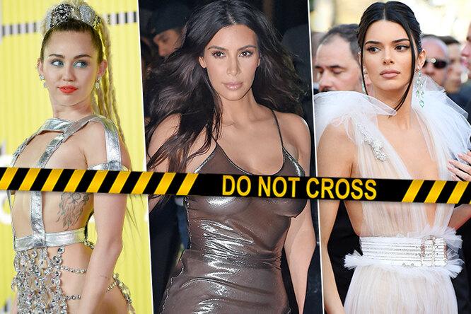 Без лифчика: эти девушки принципиально выбирают «голые» платья