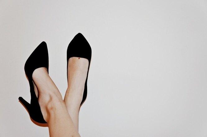 Высокие каблуки, плоскостопие