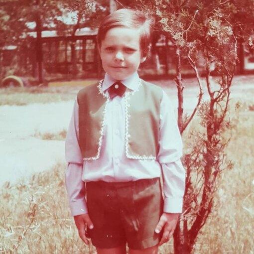 Тимур Соловьев в детстве