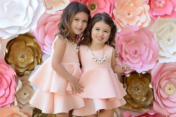 Две маленькие сестренки-модницы покорили Сеть