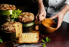 7 рецептов куличей от шеф-поваров (итальянский, на кефире, с цукатами, ЗОЖ)