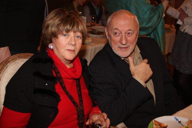 Алла Сурикова с мужем