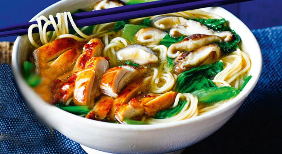Аппетитнейший азиатский суп «Два водном»