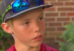 11-летний мальчик спас дом от троих грабителей