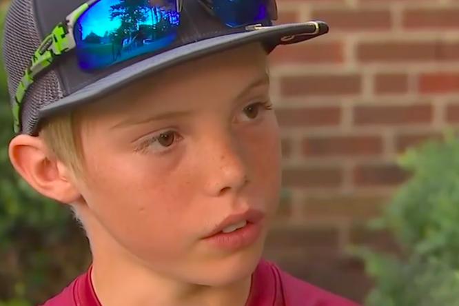 11-летний мальчик спас дом оттроих грабителей