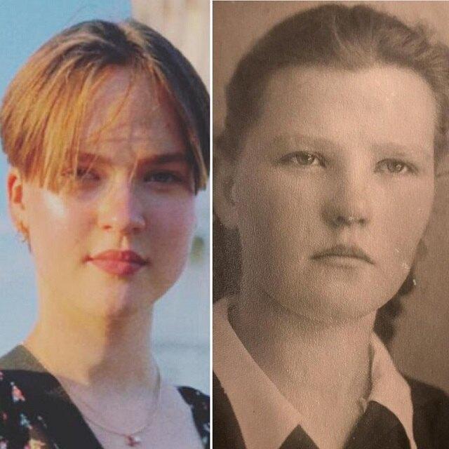 Дочь Валюшиной и мать актрисы в 17 лет.