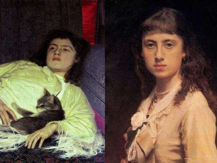 Портреты дочери Софии: