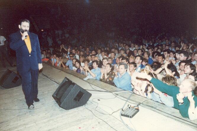 Киев, 1-й концерт, 1990 г.