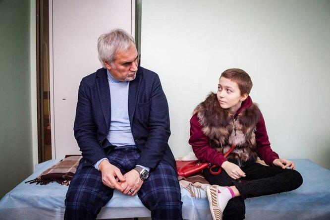 Валерий Меладзе исполнил мечту девочки изхосписа