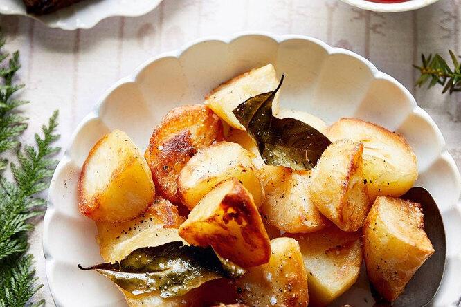 Рецепт картошки с лаврушкой