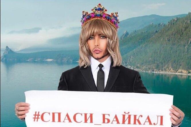 «Тампоны, памперсы, окурки»: Сергей Зверев устроил субботник поочистке берега Байкала