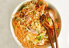 Два восхитительных осенних салата, которые готовятся за 15 минут